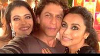 In Pics: Shah Rukh Khan reunites with his 'Kuch Kuch Hota Hai' co-stars Kajol and Rani Mukerji!