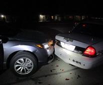 Drunkard Hits Cop Car — While Taking Topless Snapchat Photo
