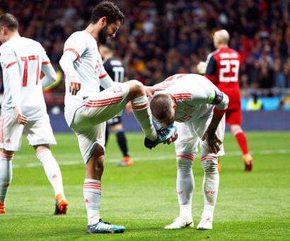 Football friendlies: Spain hit Argentina for six as Isco grabs hat-trick