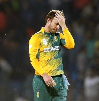 AB de Villiers ruled out of T20I series
