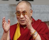 Dalai Lama leads silent prayer for Orlando victims