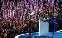 Hillary Clinton hailed as future president at the Democratic National Convention