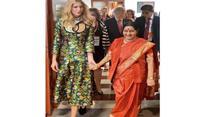 Hyderabad: Ivanka Trump meets PM Modi, Sushma Swaraj