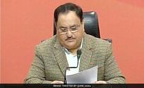 JP Nadda Chairs Meeting of Mission Steering Group Of National Health
