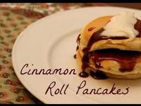 RECIPES CINNAMON ROLL PANCAKES COMPLETE Full HD