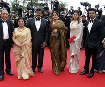 Cannes Film Festival 2013: Chiranjeevi, Son Ram Charan Teja Walk the Red Carpet [PHOTO]