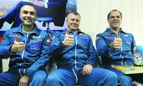 Space trio lands on Earth from ISS