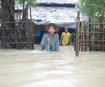 Myanmar flooding kills 6,  displaces half a million