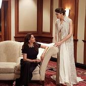 Deepika Padukone and Madhuri Dixit bond over a chat!