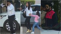 In Pics: Aishwarya, Abhishek and Aaradhya to ring in Amitabh Bachchan's 75th birthday in Maldives