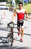 UPNM student retains mens university category in first leg of Duathlon Series