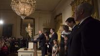 US President Donald Trump celebrates Hanukkah, Jerusalem at White House