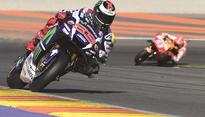Lorenzo signs off at Yamaha with victory