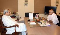 Odisha Skill Development Authority chief Subroto Bagchi meets CM Naveen Patnaik