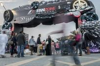 UAE residents experience virtual car race at F1 FanZone