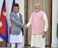 Nepal PM K P Oli meets PM Modi, President Kovind; discusses India-Nepal issues