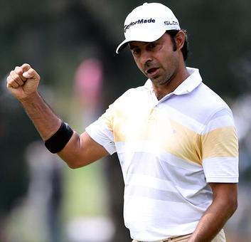 Golf: Randhawa shares lead in Manila, Lahiri in top-10 in Mexico