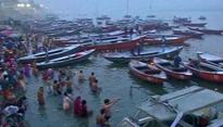 Auspicious bathing of Mauni Amawasya begins at Sangam in Allahabad