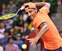Shanghai Masters: Nick Kyrgios says he was 'bored' during win over Sam Querrey
