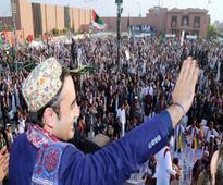Mock fateha offered at Bilawal House for NAP
