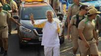 Dr. Yunus, the torch bearer at Olympics 2016