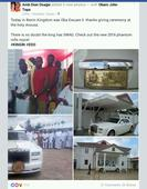 The Newly Crowned Oba of Benin, Oba Ewuare Buys Customized 2016 Rolls RoycePhantom
