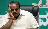 Former chief minister H D Kumaraswamy hospitalised