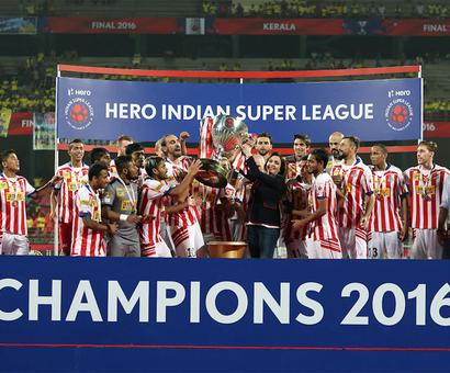 'India has a fast-growing football scene'