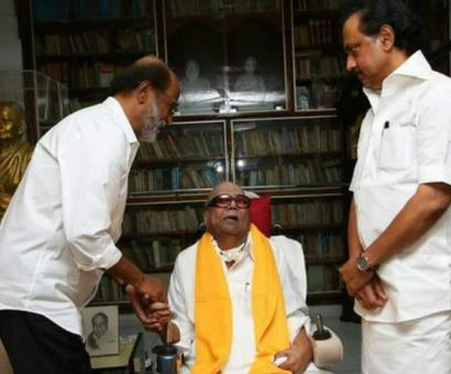 No room in TN for spiritual politics: Stalin's jibe after Rajini meets Karunanidhi