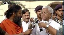 Lalu models for Ramdev's Patanjali cream, says people are jealous of yoga guru's success