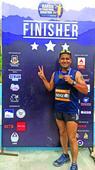 Secy CCI Gaurav completes Kargil International Marathon 2017