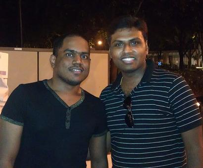Spotted: Composer Yuvan Shankar Raja in Singapore