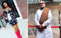 I made this dress so I can impress Modi ji. Modi ji is my dream man: Rakhi Sawant