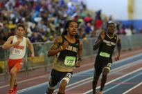 Oxon Hill track teammates dominate the 500m at F.I.T. Invitational