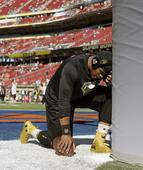 9 powerful pictures of Cam Newton praying before the Super Bowl