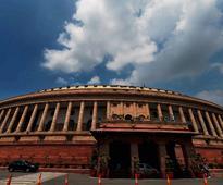 Lok Sabha, Rajya Sabha adjourned after Congress raises slogans against Modi