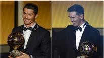 French magazine taking it's Ballon d'Or and going home
