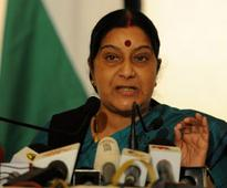 AK Ganguly should quit WBHRC chairman post: Sushma