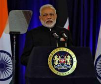 Violence threatens fabric of society, Modi tells UoN students