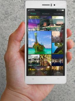 OPPO launches world's thinnest smartphone R5