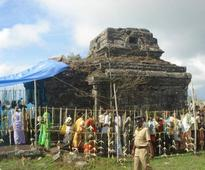 Temple for Kannagi, a picture of neglect
