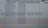 MKR Pillai has 20 bank accounts in Nagaland