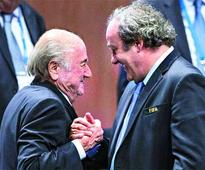Big blow: Blatter, Platini suspended for 90 days
