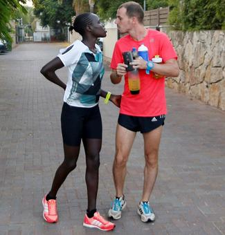 Why this Kenyan runner is going the distance for Israel...
