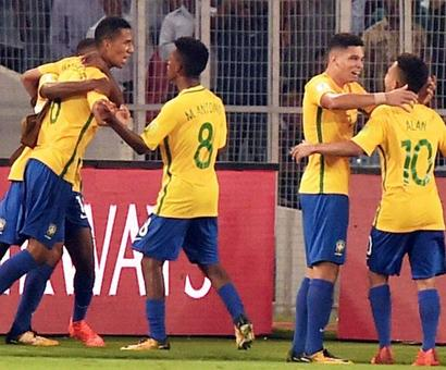 U-17 World Cup PIX: Brazil rally to down Germany; Spain trounce Iran