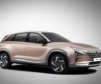 Hyundai unveiled the new-generation Hydrogen Fuel Cell SUV ahead of 2018 CES