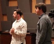 CRAS Students Turn Blue During Recording Clinic