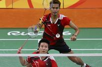 Two Indonesian pairs in mixed double finals in Hong Kong