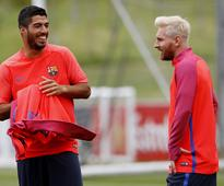 Messi's new look