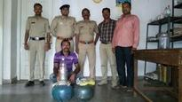 Bhatkal: Excise police raids liquor house; one arrested